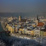 Wasserburg am Inn im Winter