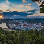 Landschaft Wasserburg am Inn Schöne Aussicht